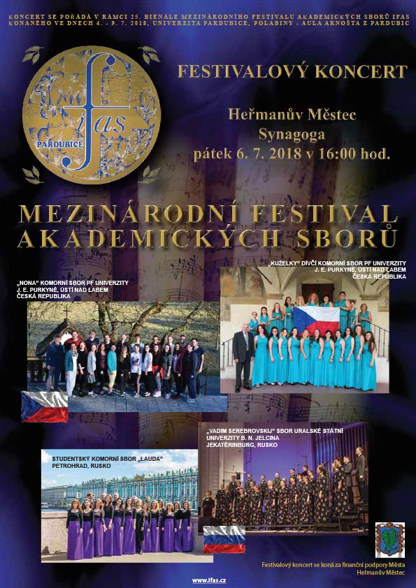 """Mezinárodní festival akademických sborů """"IFAS 2018"""" 1"""