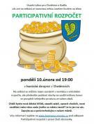 Participativní rozpočet - setkání v Chotěnicích